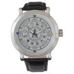 Wheel of the Year Zodiac Sabbats Runes Wristwatches