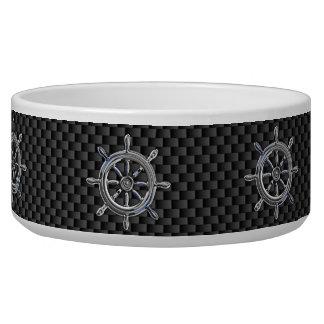 Wheel on Carbon Fiber style Bowl