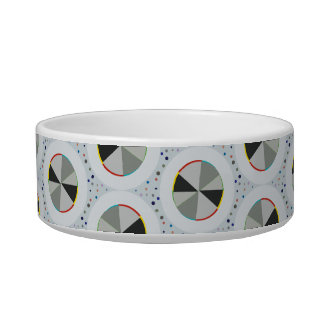 Wheel Pattern Pet Bowl