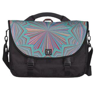 Wheel Pin Stripe Kaleidoscope Commuter Bag