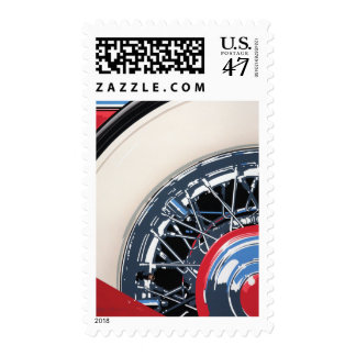 Wheel Postage Stamp