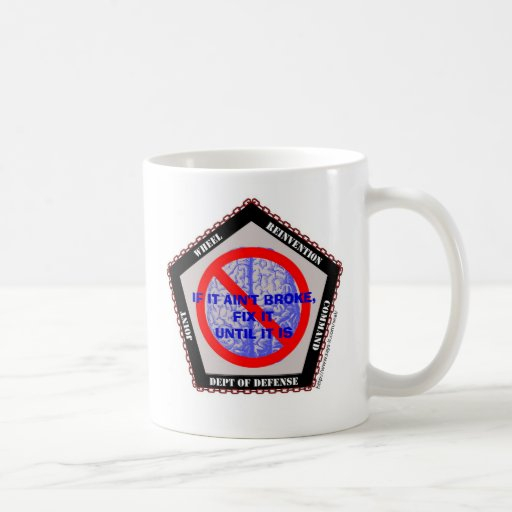 Wheel Reinvention Command - Custom... - Customized Coffee Mugs