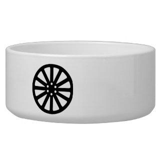 Wheel rim dog bowl