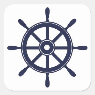 Wheel Square Sticker