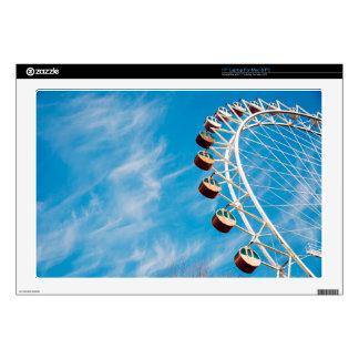 Wheel Themed, A Ferris Wheel So Big That It Is Alm Skin For Laptop