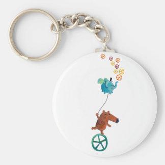 Wheel time key chains