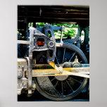 Wheel Train Closeup Poster