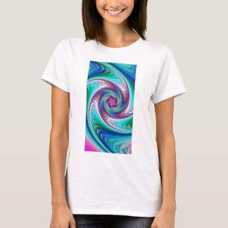 Wheel  Within Wheels Fractal Art T-Shirt