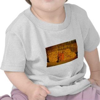 Wheelbarrel of work tee shirts