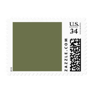Wheelbarrow Grey in an English Country Garden Postage Stamp