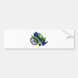Wheelchair013110 Bumper Stickers
