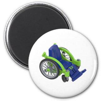 Wheelchair013110 Refrigerator Magnets