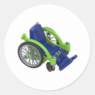 Wheelchair013110 Sticker