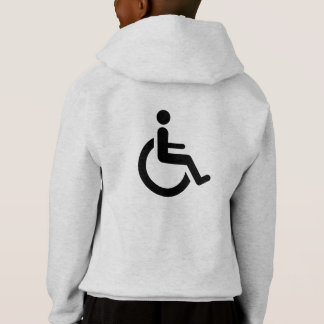 Wheelchair Access - Handicap Chair Symbol Hoodie