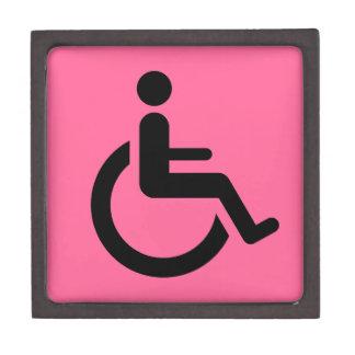 Wheelchair Access - Handicap Chair Symbol Premium Gift Box