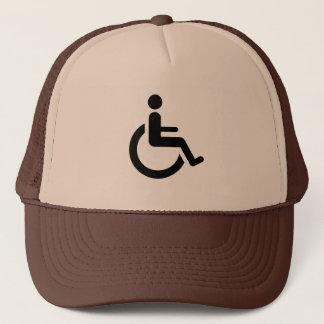 Wheelchair Access - Handicap Chair Symbol Trucker Hat