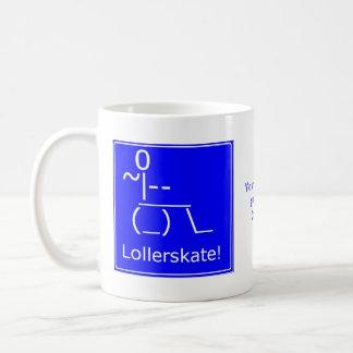 Wheelchair Access Lollerskate Classic White Coffee Mug