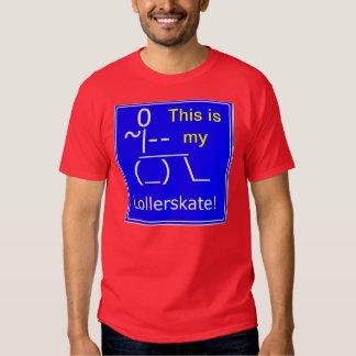 Wheelchair access Lollerskate T-Shirt