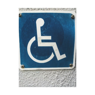 Wheelchair Access Wrapped Canvas