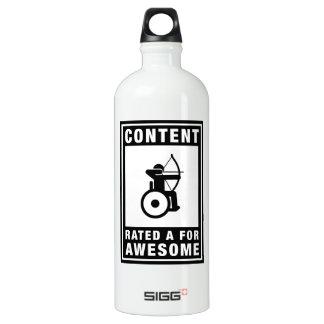Wheelchair Archery Aluminum Water Bottle