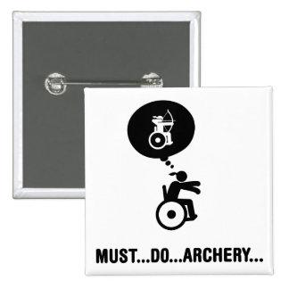Wheelchair Archery Button
