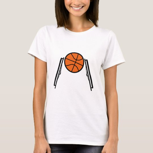 Wheelchair Ball Ladies T T-Shirt