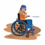 Wheelchair Baseball Photo Cutouts
