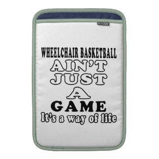 Wheelchair Basketball Ain't Just A Game MacBook Air Sleeve