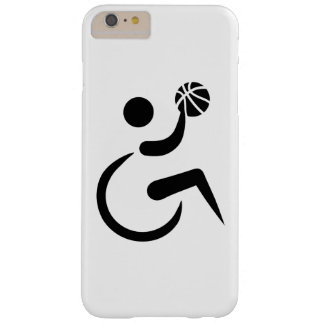 Wheelchair basketball barely there iPhone 6 plus case