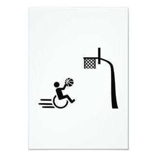 Wheelchair basketball card