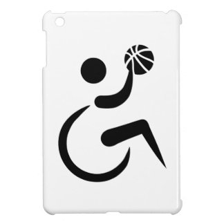 Wheelchair basketball case for the iPad mini