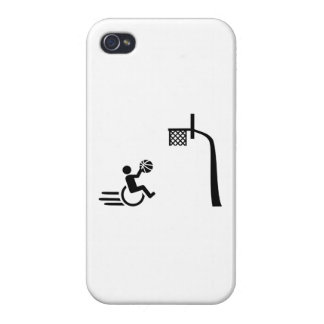 Wheelchair basketball cover for iPhone 4