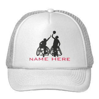 Wheelchair Basketball Hat