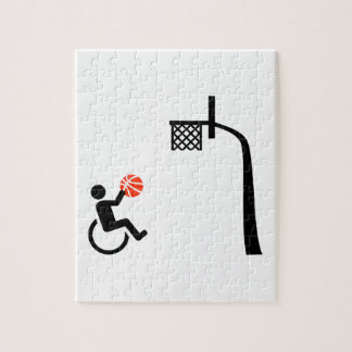 Wheelchair basketball jigsaw puzzle