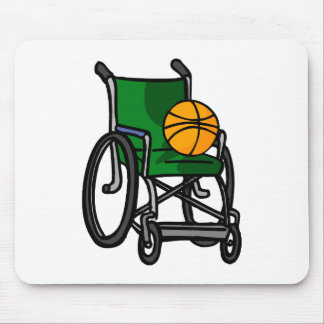 Wheelchair Basketball Mouse Pad