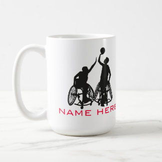 Wheelchair Basketball - Mug
