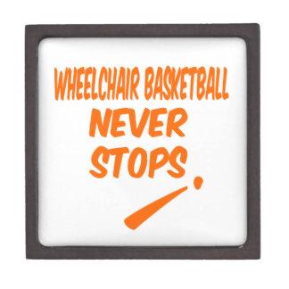 Wheelchair Basketball Never Stops Premium Gift Boxes