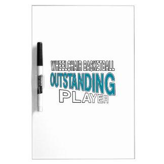 WHEELCHAIR BASKETBALL OUTSTANDING PLAYER Dry-Erase BOARD