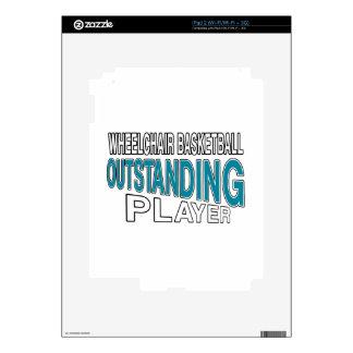 WHEELCHAIR BASKETBALL OUTSTANDING PLAYER iPad 2 DECAL