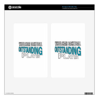 WHEELCHAIR BASKETBALL OUTSTANDING PLAYER SKIN FOR KINDLE FIRE
