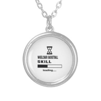 Wheelchair basketball skill Loading...... Silver Plated Necklace