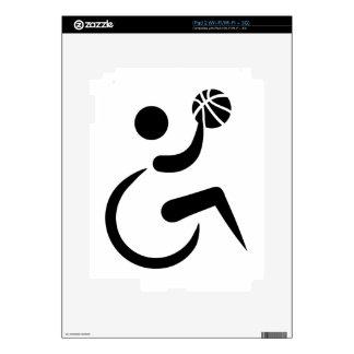 Wheelchair basketball skins for the iPad 2
