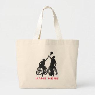 Wheelchair Basketball - Tote Bag