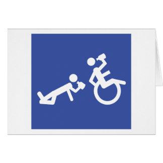 wheelchair boozer card