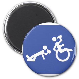 wheelchair boozer magnet