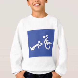 wheelchair boozer sweatshirt