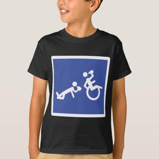 wheelchair boozer T-Shirt