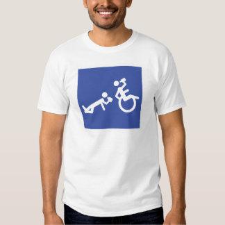 wheelchair boozer tee shirt