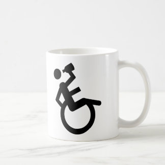 wheelchair boozer wheel chair coffee mug