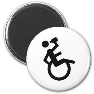 wheelchair boozer wheel chair magnet